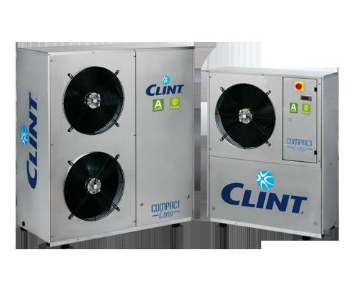 Agregat racire apă CLINT seria Compact Line SKU: CHA/CLK15 (4.2 kW) - CHA/CLK81 (20.5 kW)