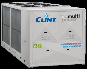 Agregat racire apă CLINT seria Mult Power SKU: CHA/K726P (199 kW) - CHA/IK/A36012 (1051 kW)