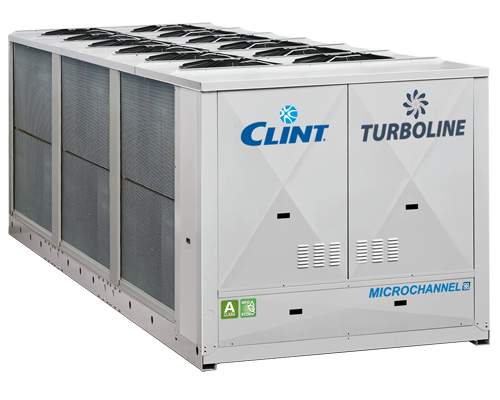 Agregat racire apă CLINT seria Turbo Line SKU: CHA/TTY1301-1 (248 kW) - CHA/TTY500-2 (1456 kW)