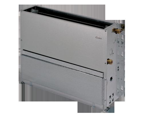 Ventiloconvector CLINT tip consola necarcasata SKU: FIW12(0.96 kW) - FIW 74(7.26 kW)