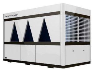 Agregat racire apă GREE seria Mini SKU: LSQWRF130M/NadM(120 kW) - LSQWRF160M/NadM (170 kW)