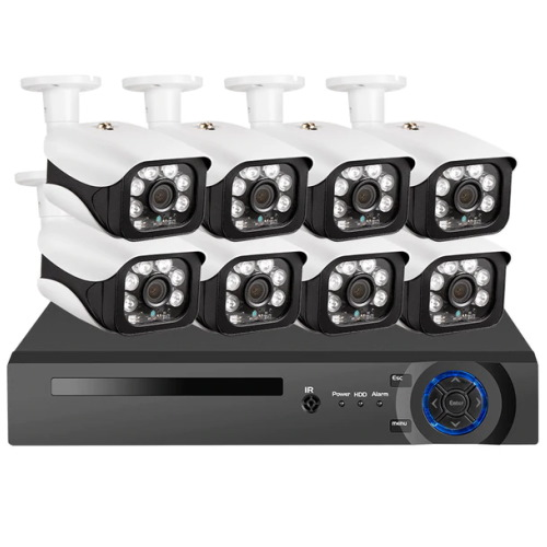 Sistem supraveghere video, NVR + 8 IP Camere 5mpx KERUI SKU: 6704HE-POE-1