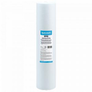 Cartus/Filtru polipropilena 5 microni Ecosoft Big Blue 20″ SKU: CPV45205ECO