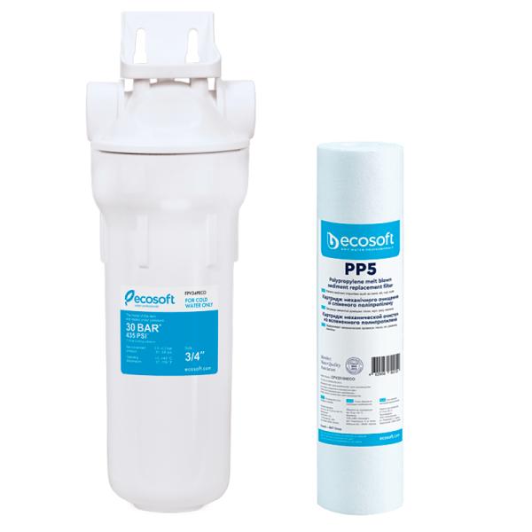 Filtru apa / Sedimente - ECOSOFT SKU: SET-CPV25105ECO