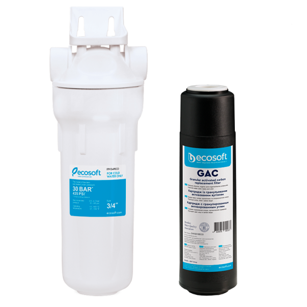 Filtru apa / Carbune Activ (Granulat) - ECOSOFT SKU: SET-CHV2510ECO