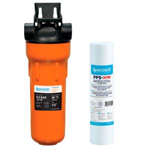 Filtru apa calda / Sedimente - ECOSOFT SKU: SET-CPV2510HWECO