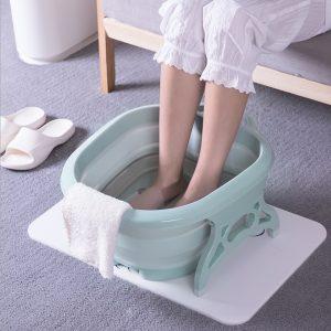 Cadita pentru picioare cu masaj, pliabila SKU: CMP504223